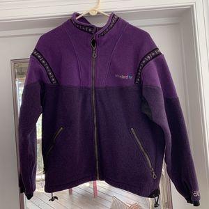 Vintage Alf (Kuhl) Womens Snowbird Fleece Jacket